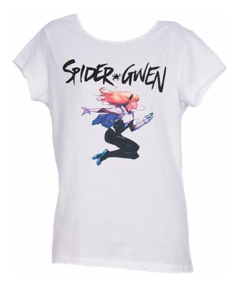 Remera, Marvel, Spider Gwen. Ovni Press Original, Licoficial