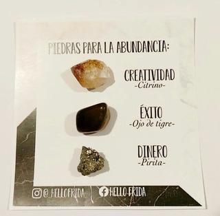 Set Piedras Semipreciosas: Citrino - Ojo De Tigre Y Pirita