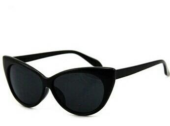 Óculos De Sol Gatinho Cat Eye Retrô Estilo Anos 80 Vintage