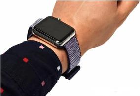 Pulseira Nylon Loop Azul Sport Apple Watch 1 2 3 E 4 38