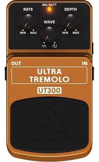 Pedal De Guitarra Ut300 Ultra Tremolo Behringer Ut-300