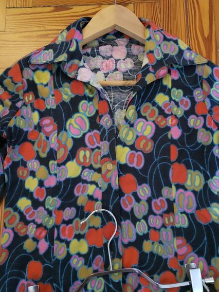 Camisa Estampada Estilo Vintage
