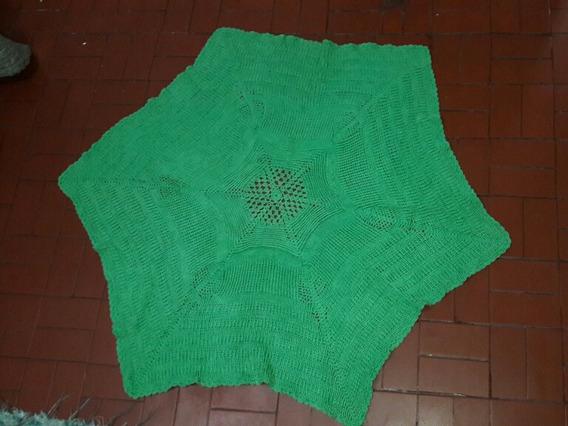 Tapete Croche Linha De Algodão - Casa Do Vendedor