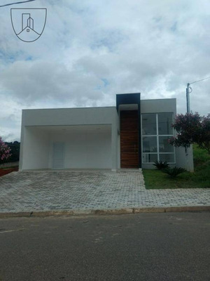 Casa Térrea Com 3 Dormitórios, Sendo 1 Suíte À Venda, Condomínio Residencial Euroville Ii - Bragança Paulista/sp - Ca0187