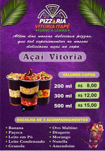 Imagem 1 de 2 de Pizzaria Vitoria Itapê