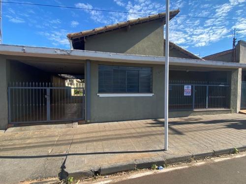 Imagem 1 de 15 de Casa Residencial Para Venda E Locação, Centro, Brodowski. - Ca0591