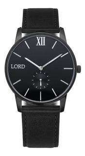 Reloj Lord Timepieces Solitude Black Silver Watch