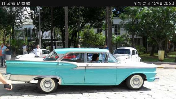 Ford Fairlane 1959 Impecavél De Exposição