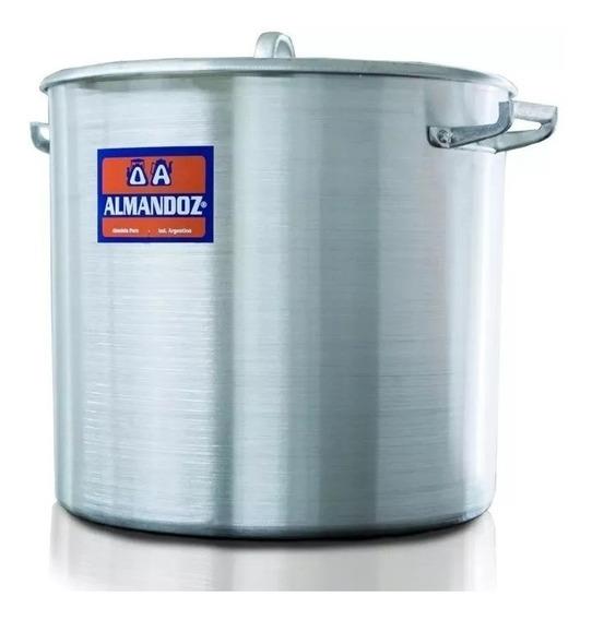 Olla Gastronomica Aluminio Nº 24 - 10 L Almandoz / Mayorista
