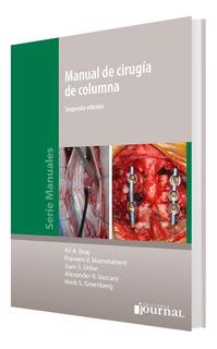 Baaj/vacaro/greenberg Manual De Cirugía Columna 2ed/2018 Env
