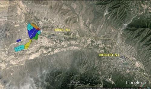 Imagen 1 de 9 de Terreno Industrial En Venta - Mina Nl.