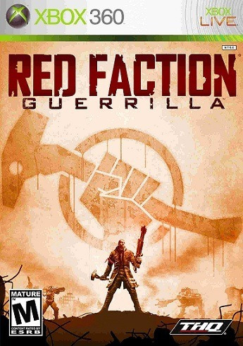 Jogo Red Faction Guerrilla Xbox360 Ntsc Em Dvd Original