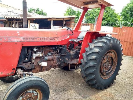 Trator Massey Fergusson 1987/batatais Caminhões
