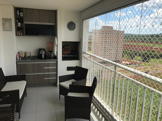 Apartamento Com 3 Dormitórios À Venda, 128 M² Por R$ 670.000 - Vila Do Golf - Ribeirão Preto/sp - Ap0815