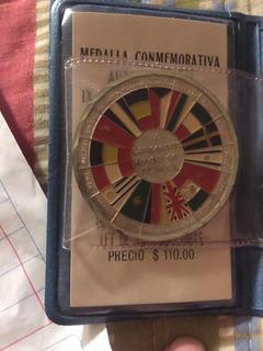 Medalla Conmemorativa Fut-bol Mexico 70
