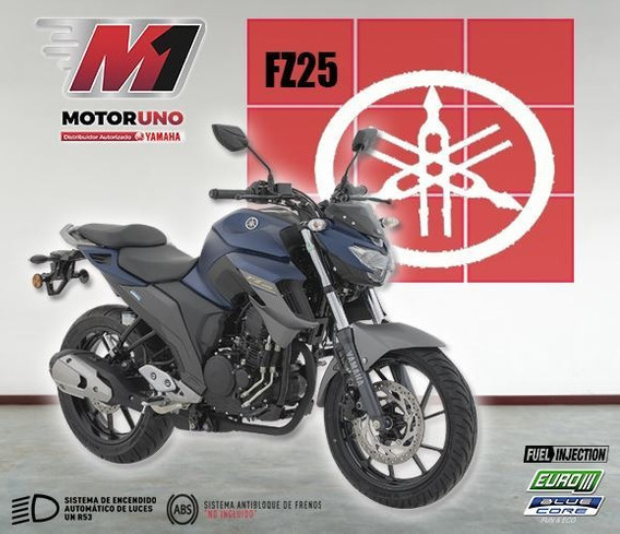 Yamaha Fz25 Azul Gris Mod 2020