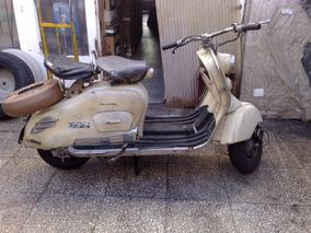 Siambretta 125 Cm3 De Luxe Mod 1960 Original 100 X 100%