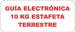 Caja Electrónica Estafeta 10 Kg