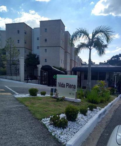 Apartamento Com 2 Dormitórios À Venda, 49 M² Por R$ 165.000,00 - Jardim Petrópolis - Cotia/sp - Ap0337