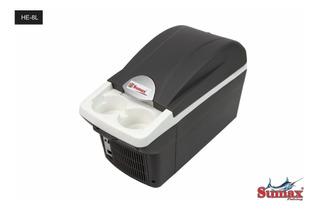 Mini Cooler Geladeira Para Carro 12v Viagem 8l Gela E Aquece
