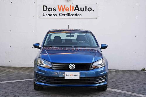 Imagen 1 de 13 de Volkswagen Vento 2019 4p Starline L4/1.6 Man