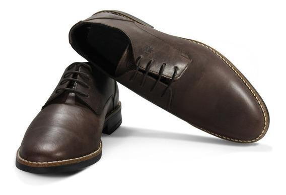 Zapatos Justicialistas Jp Choco- Cuero Vacuno (perón Eva)