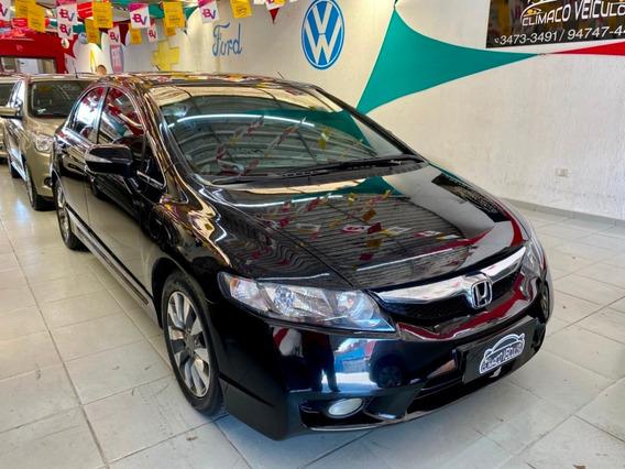 Honda Civic Sed. Lxl Se 1.8 Flex Automatico 2011/2011 Preto