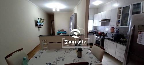 Cobertura Com 2 Dormitórios À Venda, 134 M² Por R$ 430.000,00 - Vila Pires - Santo André/sp - Co11894