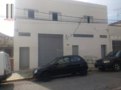 Galpão Comercial Para Locação, Mooca, São Paulo. - Ga0272