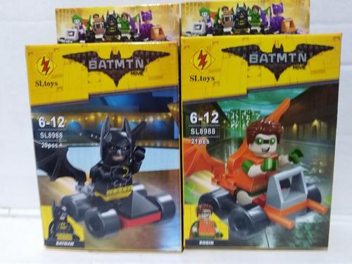 Batman Bloque Símil Con Autito