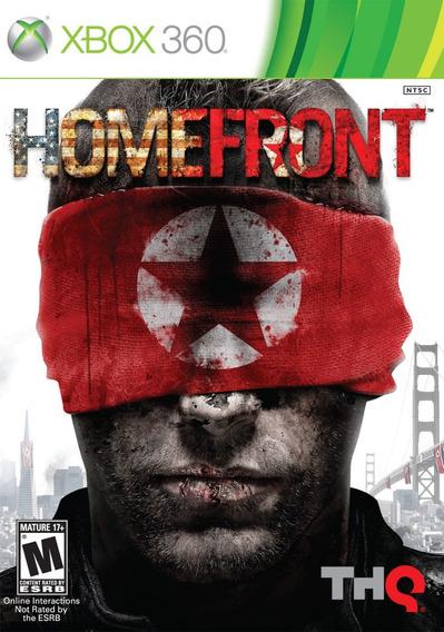 Jogo Homefront Xbox 360 X360 Mídia Física Original Game