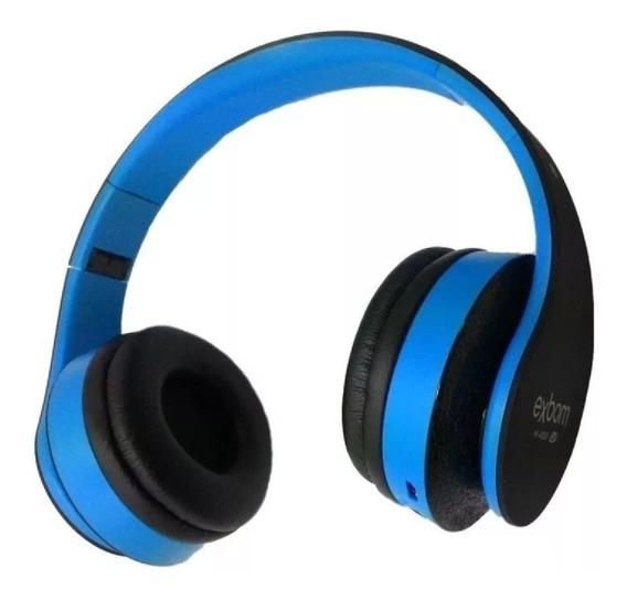Fone Headset Hf-400bt Bluetooth Fm/cartao Sd Exbom F