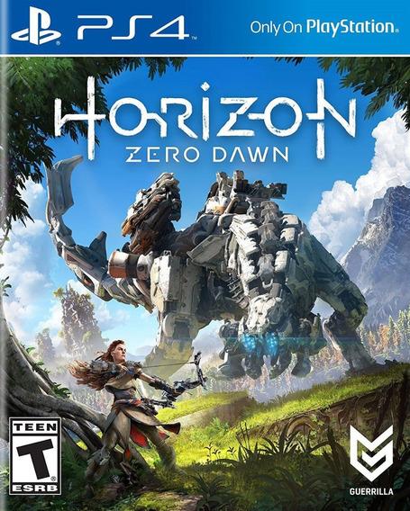 Jogo De Ps4 Horizon Zero Dawn Mídia Física
