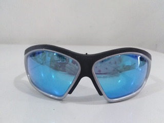 Lente De Seguridad Uvex Azul Espejado S2143