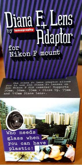 Diana S L R Adaptador P/ Lente Nikon