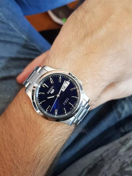 Relógio Seiko 5 Automatico Snk793k1 Clássico Calendário