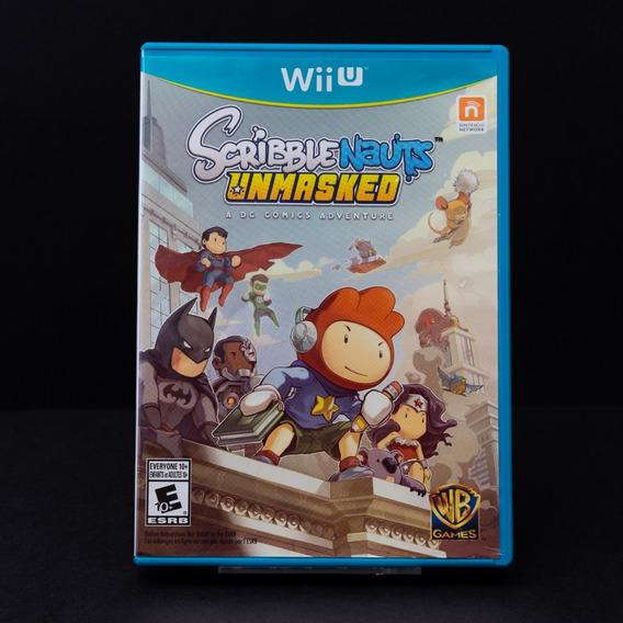 Scribble Nauts Unmasked - Wii U