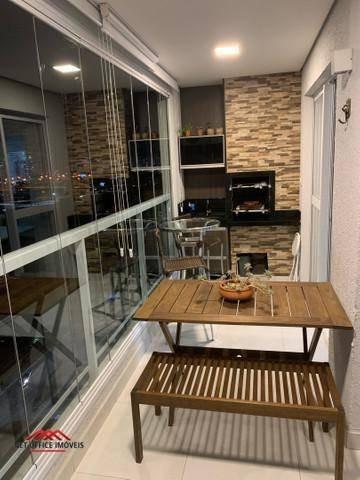 Imagem 1 de 6 de Apartamento Com 2 Dormitórios Com Varanda Gourmet À Venda, 69 M² Por R$ 415.000 - Parque Industrial - São José Dos Campos/sp - Ap2202