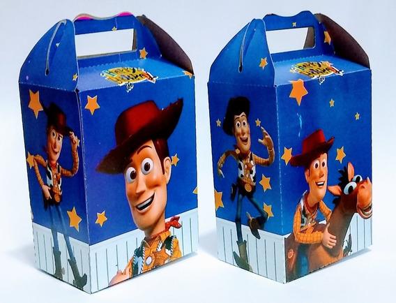 Woody 50 Cajas Dulceros Articulos De Fiestas.