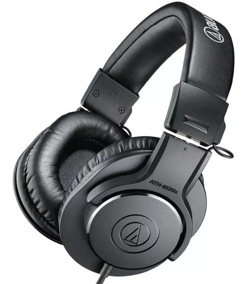 Audio Technica Fone Ath - M20x - Headphones Profissional