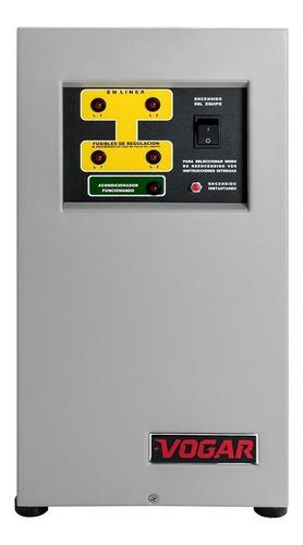 Imagen 1 de 4 de Regulador Electrónico De Voltaje Vogar® Bifásico 10 Kva