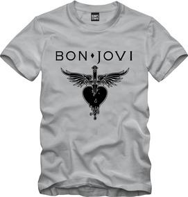 Camisa De Rock Bon Jovi Logo Rock 091