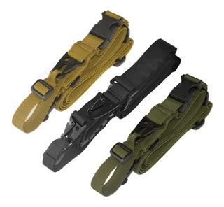 Portafusil Tactico 3 Puntos Militares Policias Caza!