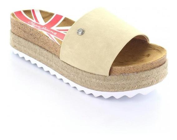 Sandalia Para Mujer Pepe Jeans Ba001-a-045138 Color Beige