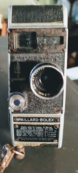 Filmadora Paillard-bolex L8 - 1947