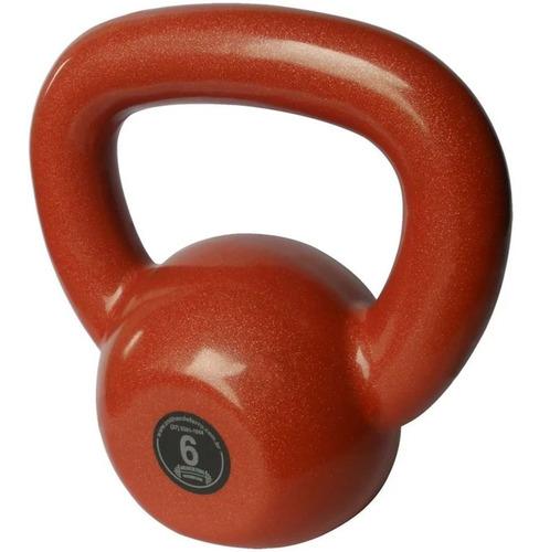 Kettlebell Emborrachado Treinamento Funcional Fitness 6,0 Kg