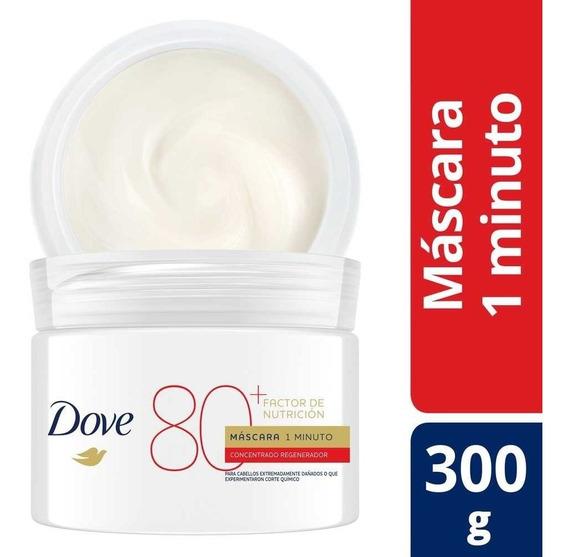 Dove Mascara Capilar 1 Minuto Factor Nutricion 80+ X 300 G