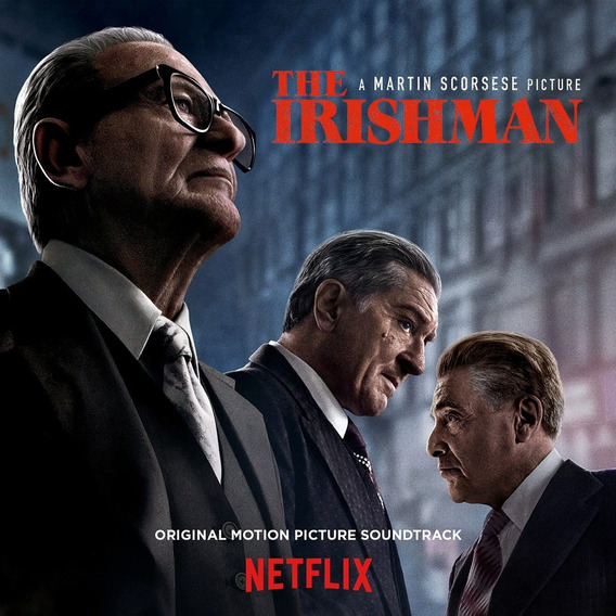 Soundtrack The Irishman Cd Importado Nuevo Original