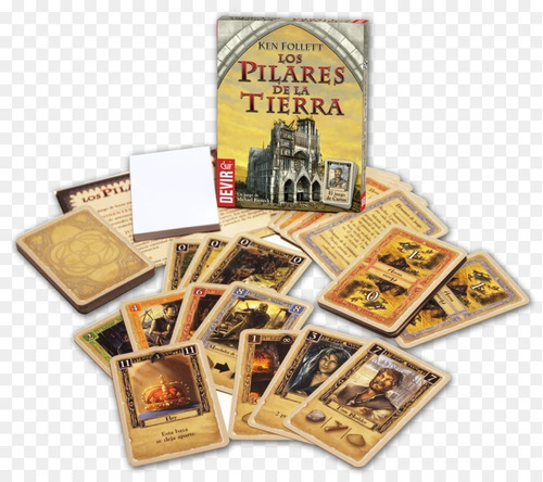 Jogo De Tabuleiro Os Pilares Da Terra Board Card Game Grok