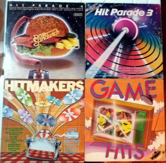 Vinil Hit Parede 3 E 4 / Hitmakers / Game Hits Anos 80